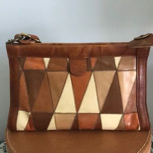 Vintage Miss Tony Lama Leather Bag